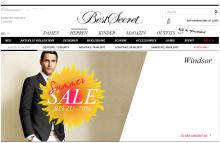 einladungen für bestsecret» verkaufsaktionen im shoppingclub, Einladungen