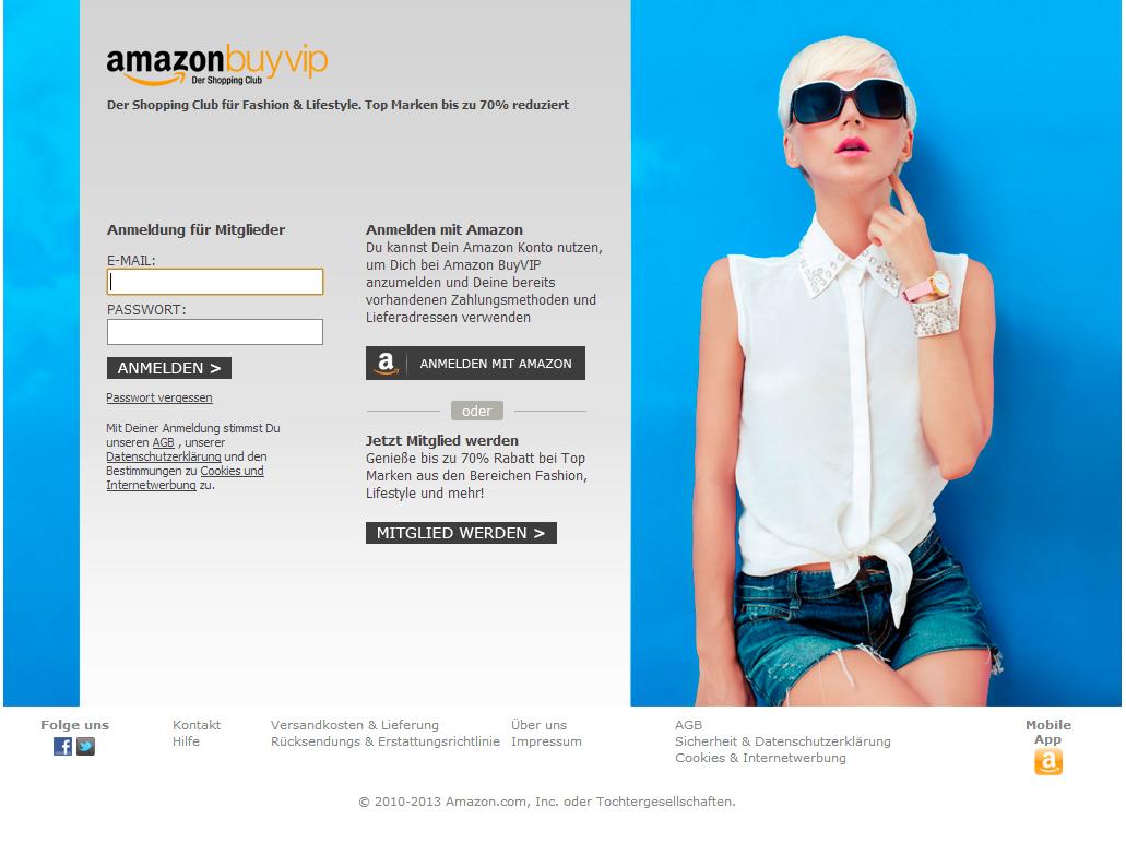 Titelseite von BuyVIP